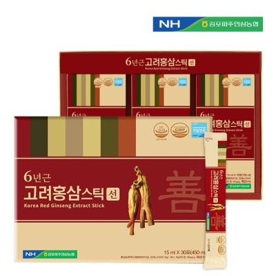 개성인삼농협 고려홍삼스틱(선)15ml x 30포