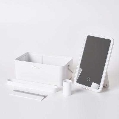 바디랩스 LED 조명 화장품 정리수납함 Looker Pro