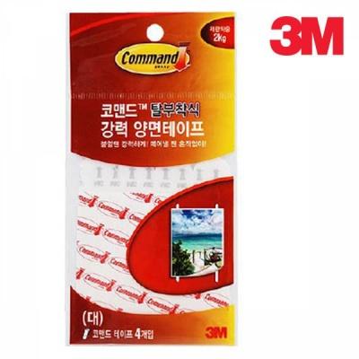 3M 코맨드 리필 양면테이프(대) 4개입