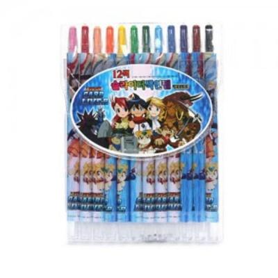 색연필 12색 색칠 미술 놀이 그림 어린이 학용품