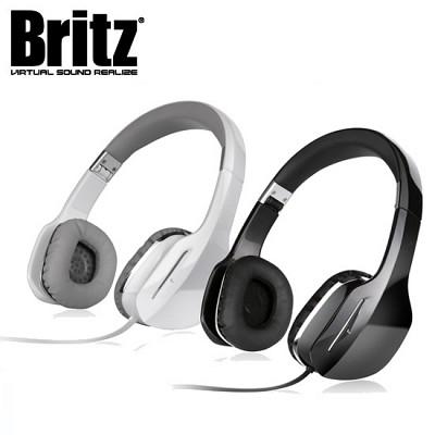 브리츠 3단 폴딩 헤드셋 BE-L50 (내장 마이크 핸즈프리 통화 / 40mm 드라이버 탑재 / 유선 리모컨 / MP3 & 스마트폰 & 컴퓨터 등 3.5mm 스테레오 커넥터)