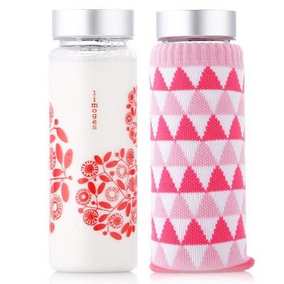 리모쥬 레이디 보틀 500ml(액센트 레드)+핑크 보틀싹스