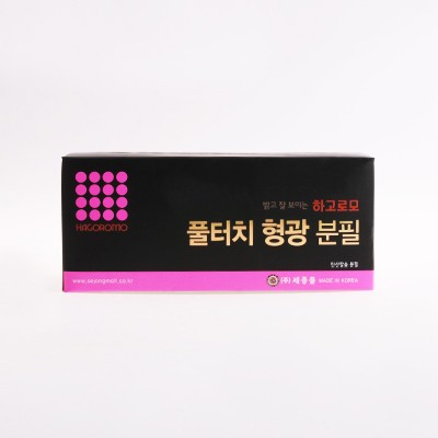 하고로모 분필 - 탄산형광 핑크 1통 72(本)