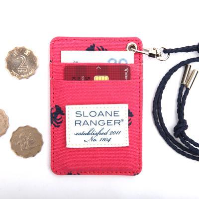 [Sloane Ranger]Card Wallet - Lobster