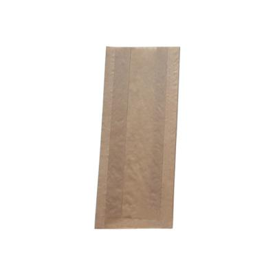 줄무늬크라프트창봉투 소 100매 (9x6x25)