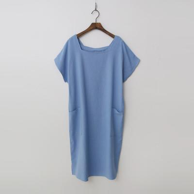 Linen Cotton Square Dress