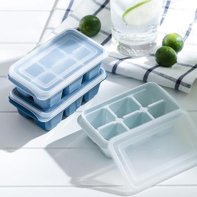 여름 홈 카페 아이스 큐브 미니 얼음트레이 6홀 3set
