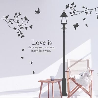 ijs596-로맨틱 가로등과 러브트리