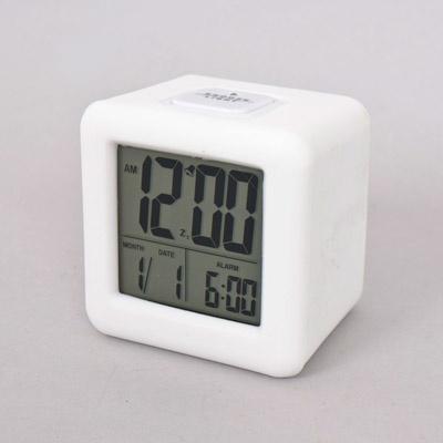 화이트큐브 디지털 탁상시계