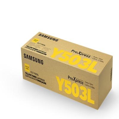 삼성 정품 토너 CLT-Y503L 노랑 토너