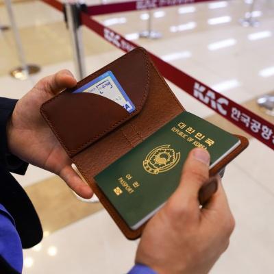 이비그 가죽 여권지갑 / 여권케이스