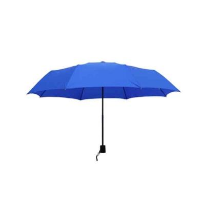 송월우산 3단 컬러무지 우산