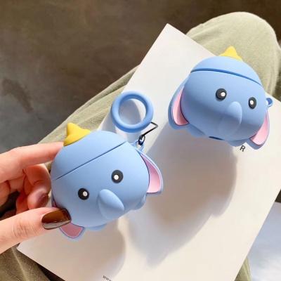 에어팟 3세대 코끼리 키링 젤리 케이스_스카이159/PRO
