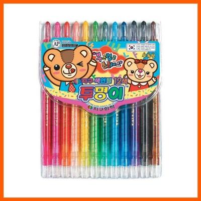 샤프식 색연필 투명이 12색 1SET