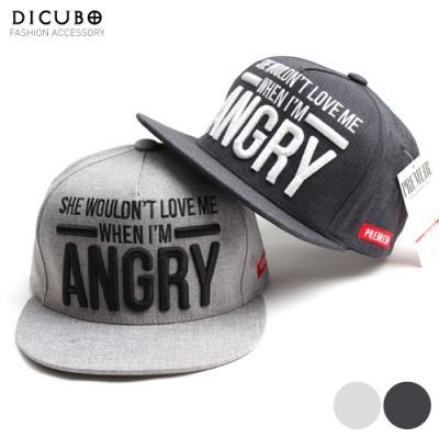 [디꾸보]스모그 엥그리 스냅백 남녀공용 모자 DCH-ET204