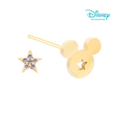 Disney 월트디즈니 쥬얼리 골드큐빅별미키 귀걸이