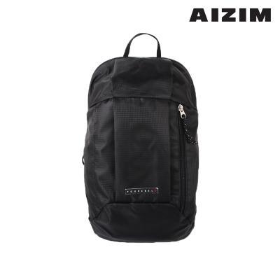 AIZIM 등산배낭 가벼운 산책 나들이 백팩  ASM012MBK