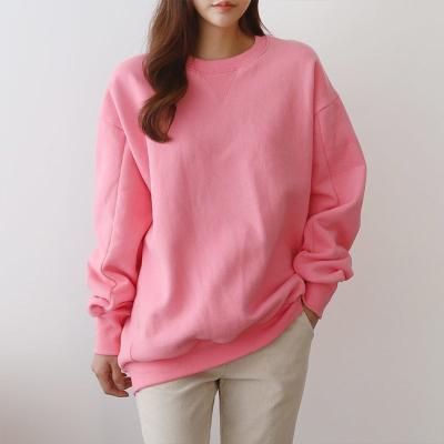 Gimo Twin Point Cotton Sweatshirt - 안감기모