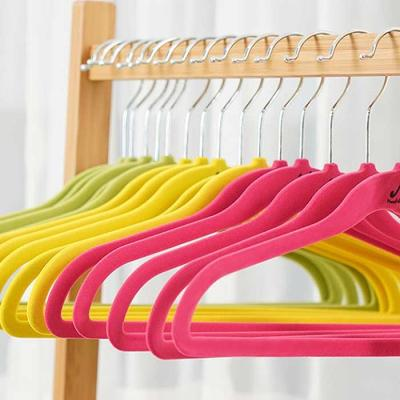 Velvet Non Slip 옷걸이 아동용20P 3color CH1577350