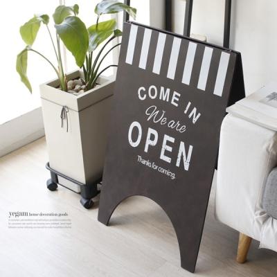 [2HOT] 빈티지 오픈 스탠드 칠판