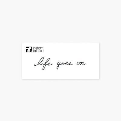 라이프고즈온 life goes on