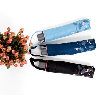 [더로라]기라로쉬 3단완전자동 우산-플라밍고 E807