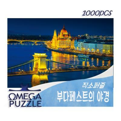 1000pcs 직소퍼즐 부다페스트의 야경 1411