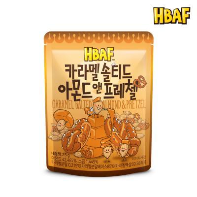 [길림양행] 카라멜 솔티드 아몬드 앤 프레첼 25g