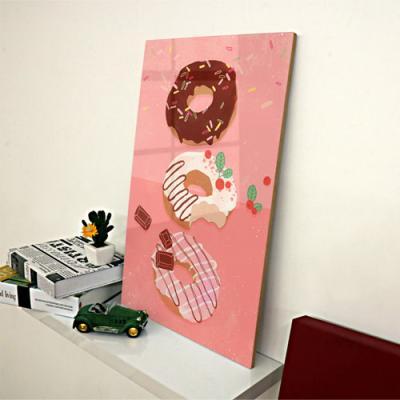 ac069-아크릴액자_핑크도넛앤커피