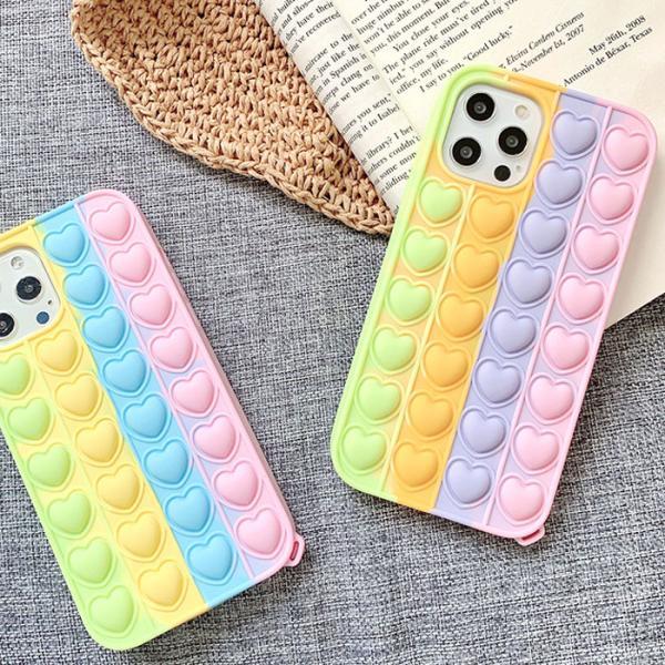 푸시팝 하트하트케이스(아이폰11프로)