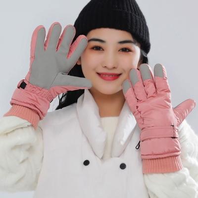 비기닝 여성 스포츠장갑(핑크) / 방한 스키장갑