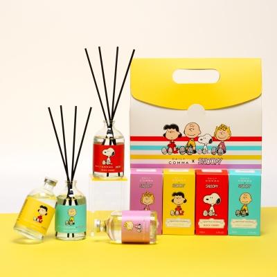 스누피와 친구들 디퓨저 선물세트 100mlx4+쇼핑백