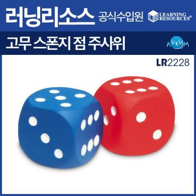 러닝리소스 고무 스폰지 주사위(LR2228)