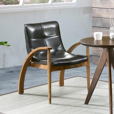 [에인하우스] 키트니 원목 팔걸이 식탁 의자