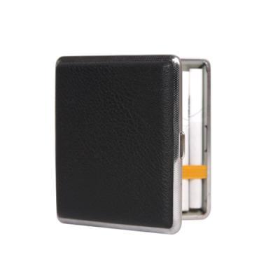 가죽 블랙 담배 케이스 -일반형