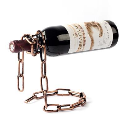 빈티지 체인 와인 거치대 1개