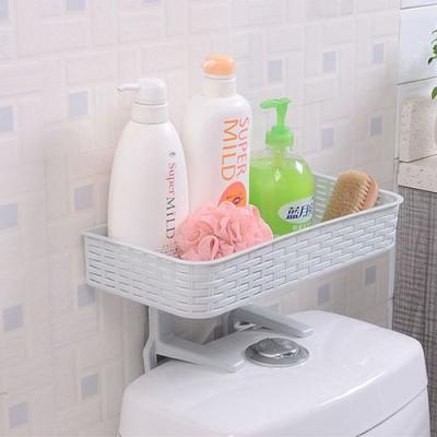 (와인앤쿡)다용도 욕실 변기 수납선반 1개(색상랜덤)