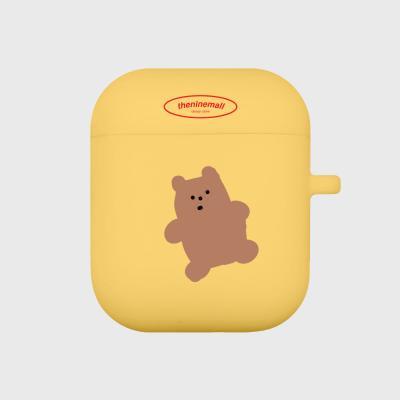gummy 브라운 에어팟 케이스[yellow]