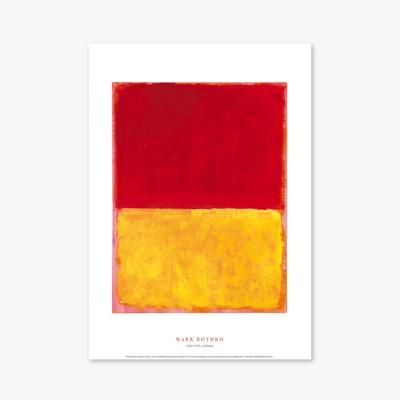 현대작가 포스터 갤러리 액자 026 Mark Rothko Untitled