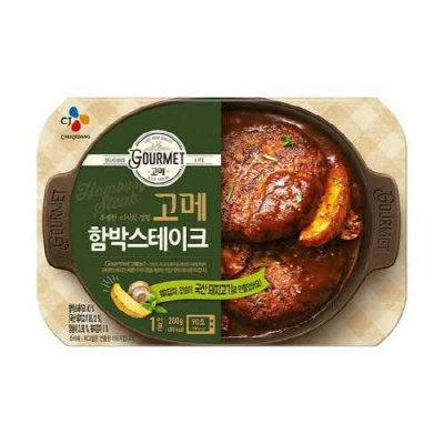 [CJ제일제당] 특별한미식 고메 함박스테이크 200gx5개
