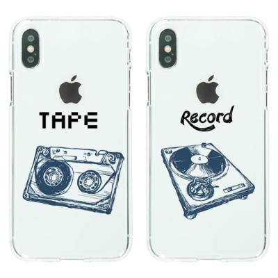 아이폰8/7플러스케이스 음향기기 소프트젤리케이스