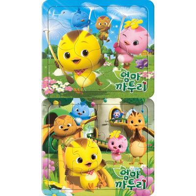 10 16조각 판퍼즐 - 엄마 까투리 (2종)