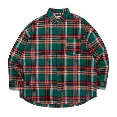 CB 아콘 마스 오버핏 셔츠 (그린)