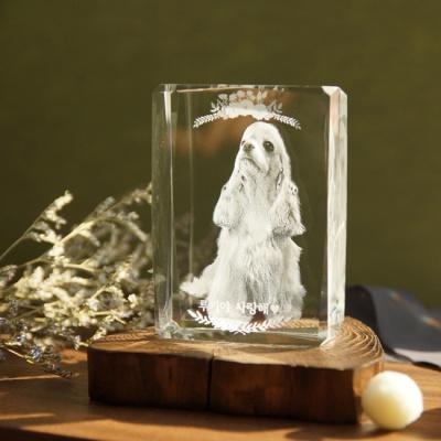 CUBE1074 - 부모님결혼기념일선물 크리스탈감사패
