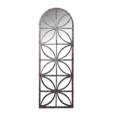 철재 장식 벽거울 45cm*135cm