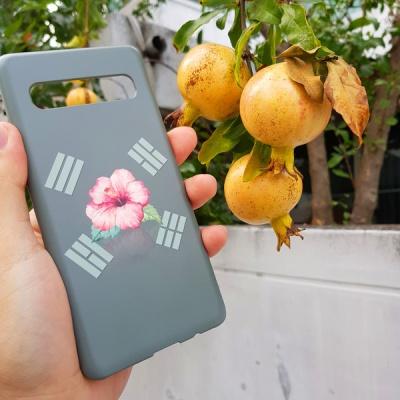 [터프케이스] 무궁화 태극기 카키 스마트폰 케이스