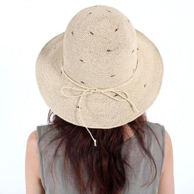 이쁜 벙거지 파나마햇 햇빛가리개 패션 모자 베이지