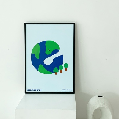 [KEEERI x BFMA] EVERYTHING 포스터 A4,A3 - EARTH