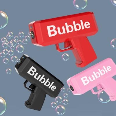 멜로디 LED 불빛 자동 버블건/비눗방울놀이 총 장난감