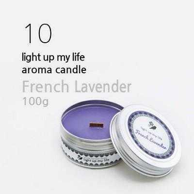Light up my life 소이 틴캔들 100g - 프렌치라벤더